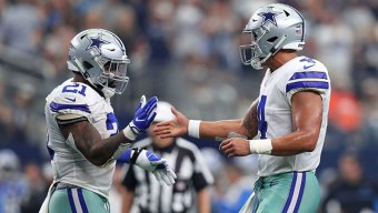 JJT Joins NBC 5 Today After Cowboys Win Over Lions