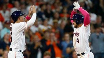 Springer 5 Hits, 2 Homers as Astros Romp, Sweep Rangers