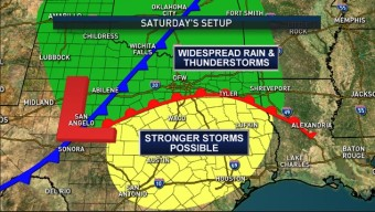 Weekend Storm System Means Good News and Bad News
