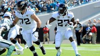 Jaguars Rule Out Running Back Fournette for Game at Cowboys