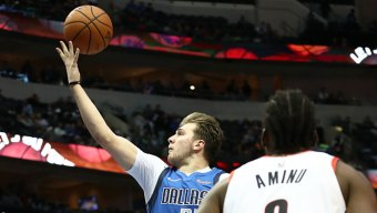 Doncic's 21 Points Lead Mavs Past Trail Blazers