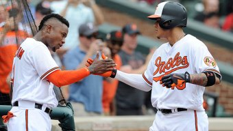 Machado Homers, Exits Early in Orioles' Win Over Texas
