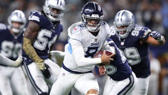 Mariota Recovers, Titans Top Cowboys in Cooper's Debut