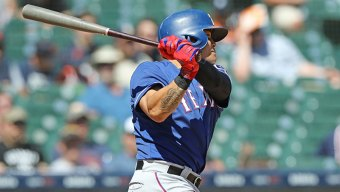 Choo Extends Streak as Rangers Top Tigers