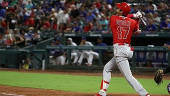 Ohtani Homers Twice as Angels Beat Rangers