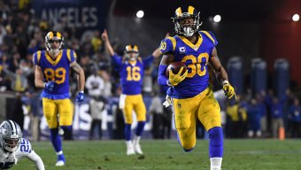 Gurley, Rams Run Through Cowboys, Advance With 30-22 Victory
