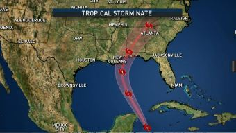 TS Nate: Mississippi Issues State of Emergency