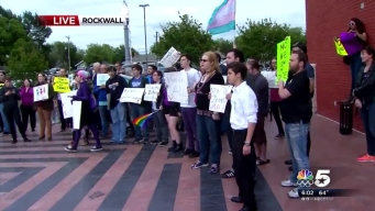 Overflow Crowd Discusses Rockwall Restroom Bill