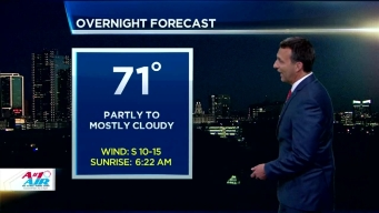 NBC 5 Forecast: Low Storm Chances