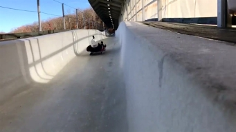 Brian Curtis Gets Back on a Luge Sled