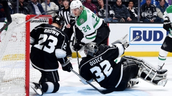 Hintz's Goal in OT Gives Stars Victory Over Kings