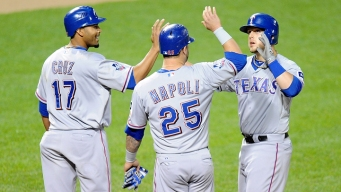 Snyder Helps Rangers Down Orioles