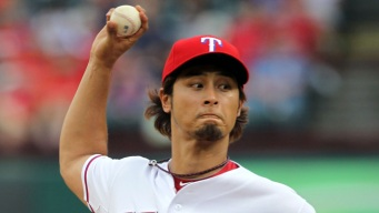Darvish Dominant With Two Exceptions