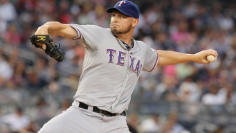 Harrison Wins 17th, Rangers Beat Mariners