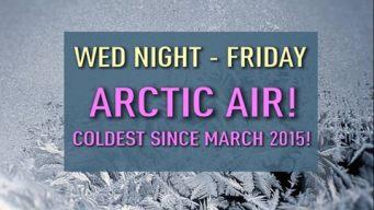 First Arctic Intrusion on Track, Round 2 Near