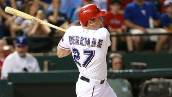 Berkman Returns to Lineup After Break
