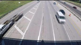 North Texas Highway Contractor Takes Quick Action to Correct Confusing Lane Shift