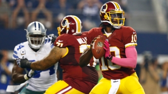 NFC East Watch: Shanahan Doesn't Blame Injuries for RG3 Struggles