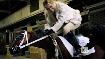 Jockey Training: Audrina Takes the Test