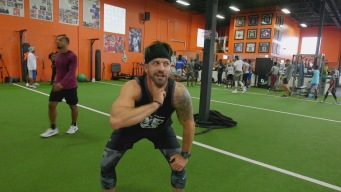 Johnny Bananas Gets A Dose of NFL Training From The Pros Themselves (XPE Training)