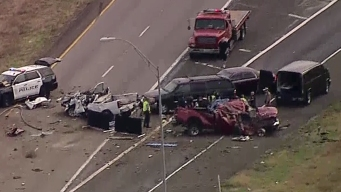 EB I-20 Reopens After Triple-Fatal Crash in Kaufman Co.