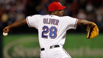 Darren Oliver Working With Rangers Pitchers