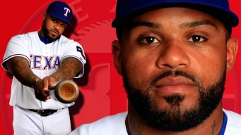 Rangers Put Fielder on DL For 1st Time in Career