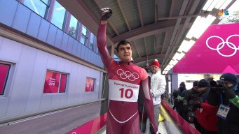 Nikita Tregubov Takes Silver in Skeleton for OAR