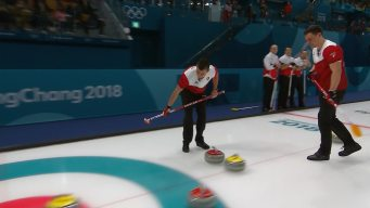 Switzerland Hands Canada Second Straight Curling Loss