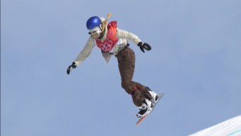 Anna Gasser's Cab Double Cork 1080 Tops Big Air Qualifying