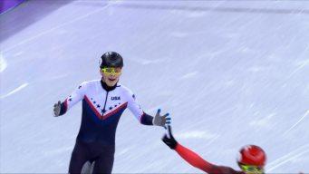 How Krueger Ended U.S. Speed Skating's Medal Drought
