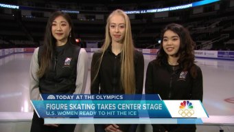 Team USA Prepares for Women's Figure Skating Competition
