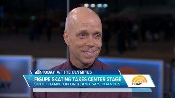 TODAY: Scott Hamilton Previews Women's Figure Skating