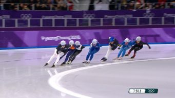 Watch the Full Women's Speed Skating Mass Start Race