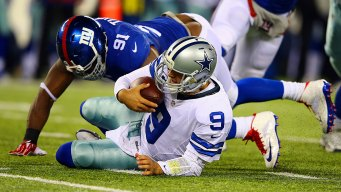 QBs Coach Admits Concern Over Romo's Back