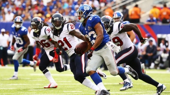 NFC East Watch: Jennings Says Giants are Super Bowl Contenders