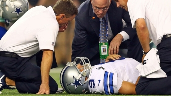Cowboys Awaiting Word on Romo's Back