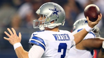 Weeden Waits on Romo's Balky Back