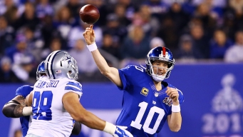 NFC East Watch: Giants, Eli Manning Not Close to New Deal