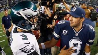 Tony Romo Has a Fan in Mark Sanchez