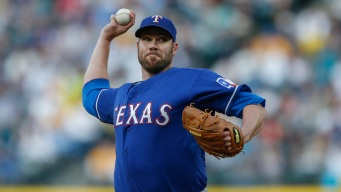Rangers Send Lewis to Mound Looking for Sweep