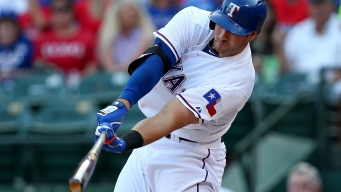 Rangers' Joey Gallo on His First Home Run