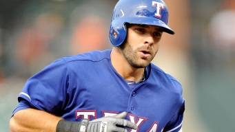 Moreland Near Top of Rangers' WAR List