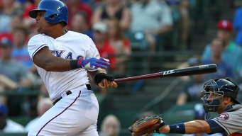 Rangers, Astros Wreck Astros' Staff