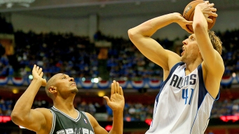 Dirk Has to Beat Father Time to Beat Spurs