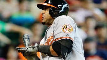 Nelson Cruz Plunked by Former Teammate