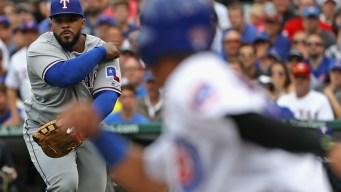 4 Relievers Throw 5-Hitter, Cubs Beat Rangers