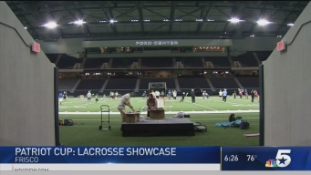 Lacrosse Teams Hold Clinic for Dallas Children