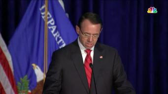 AG Rosenstein Praises Sessions at Crime Summit