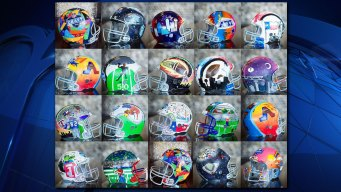 Arlington ISD Helmet Art  to Be Featured During NFL Draft